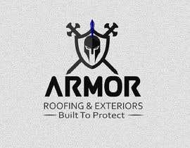 #377 per Logo Design for Armor Roofing & Exteriors da Avijit09