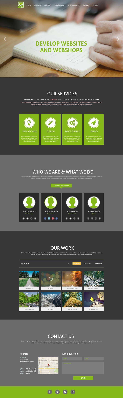 Konkurrenceindlæg #                                        18                                      for                                         Design a Website Mockup for http://makers.dk