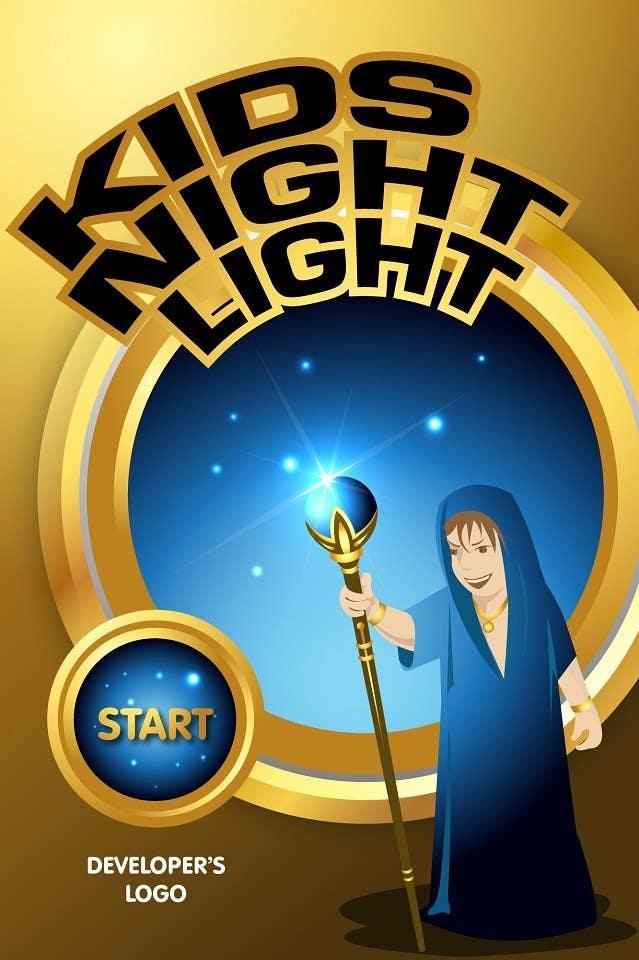 Inscrição nº                                         78                                      do Concurso para                                         Kids Night Light Graphic Design for App