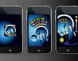 #72 para Kids Night Light Graphic Design for App por thefinalstory