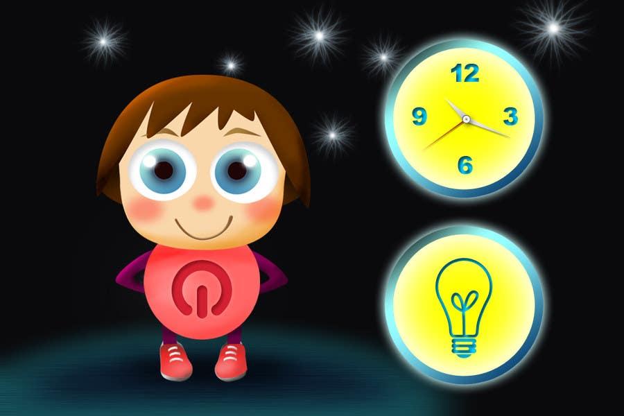Inscrição nº                                         24                                      do Concurso para                                         Kids Night Light Graphic Design for App