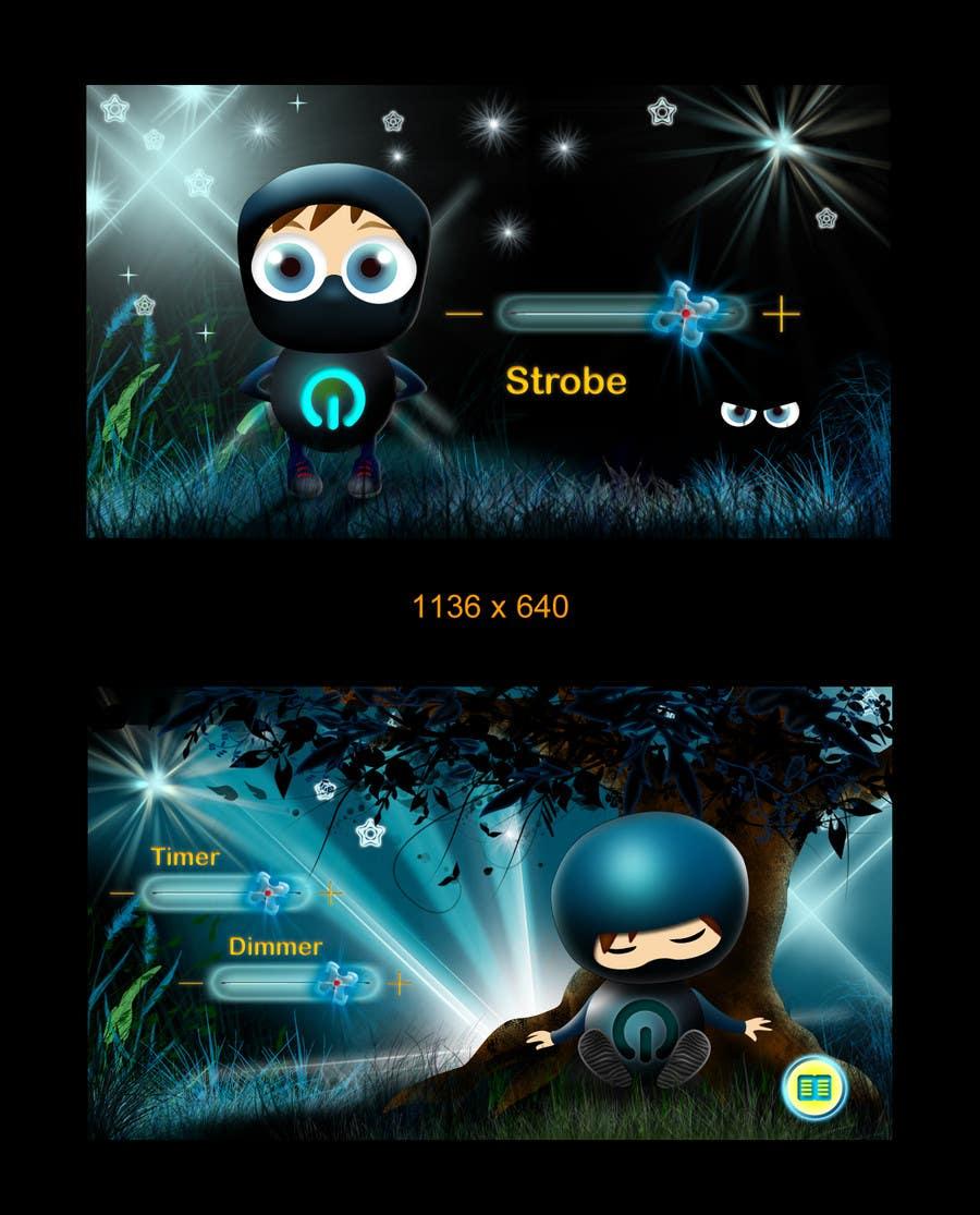 Inscrição nº                                         80                                      do Concurso para                                         Kids Night Light Graphic Design for App