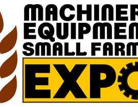 #51 untuk Design a Logo for Machinery, Equipment and Small Farms Expo oleh cbarberiu