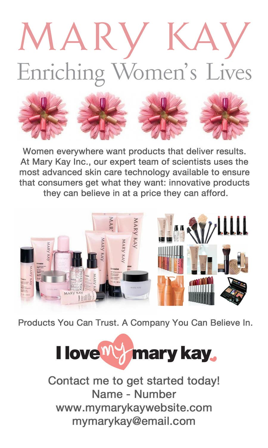mary kay business cards pdf