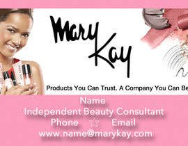 #7 cho Design some Business Cards for a new Mary Kay business bởi kellimar