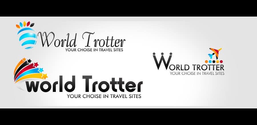 Конкурсная заявка №274 для Logo Design for travel website Worldtrotter.com