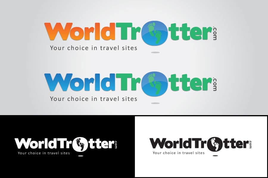 Конкурсная заявка №211 для Logo Design for travel website Worldtrotter.com