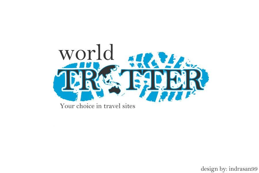 Inscrição nº 73 do Concurso para Logo Design for travel website Worldtrotter.com