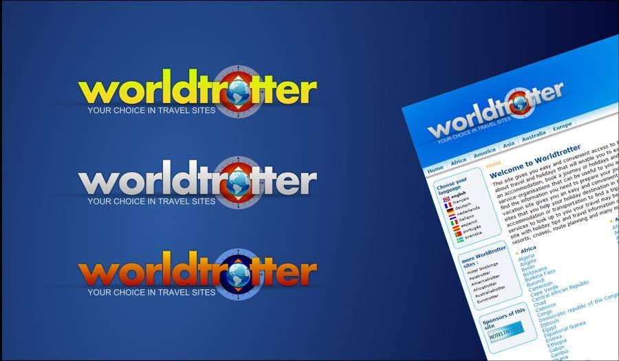 Конкурсная заявка №66 для Logo Design for travel website Worldtrotter.com