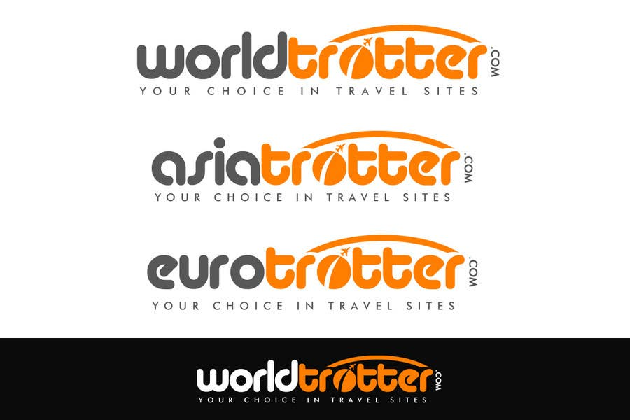 Конкурсная заявка №233 для Logo Design for travel website Worldtrotter.com