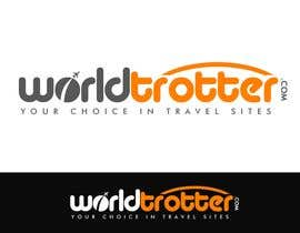#111 สำหรับ Logo Design for travel website Worldtrotter.com โดย tilak1977