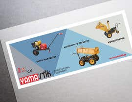 #55 for Design a banner 80X200 cm - Horizontal and Vertical by tealu