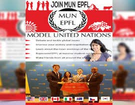 #22 for Design a flyer + banner for a Model United Nations by mdzafarikball