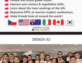 #57 for Design a flyer + banner for a Model United Nations by bdKingSquad