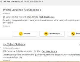 #2 for Find Architect Homepages - Canada by mirniyazuddin92