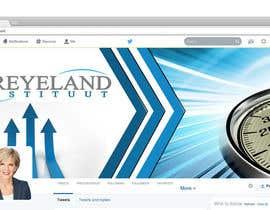 #24 untuk Design a Twitter background for us oleh yassminbel