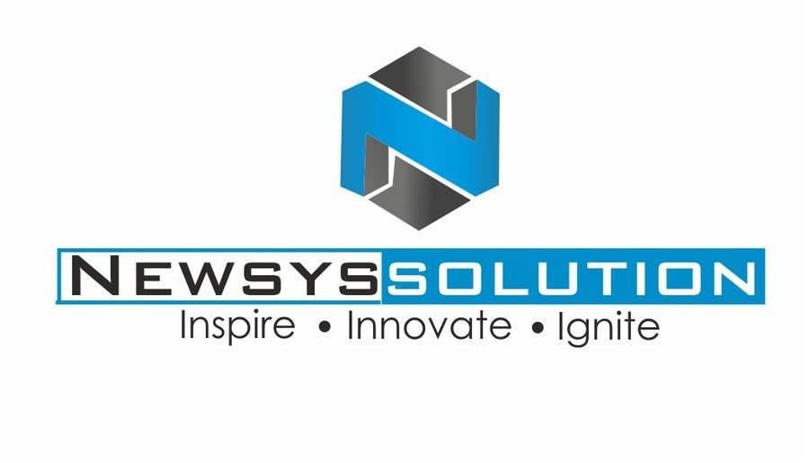 Penyertaan Peraduan #                                        36                                      untuk                                         Design a Logo for Newsys Solution