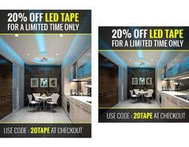 #47 for Design an LED Tape Banner for Email by vishaldz9ow