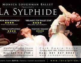 #37 untuk Graphic Design for Ballet company for a ballet called La Sylphide oleh qoaldjsk