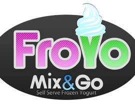 #212 para Logo Design for Mix&Go FroYo de SmithWebDesign
