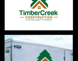 BrandCreativ3 tarafından Logo Design for Timber Creek Construction için no 123