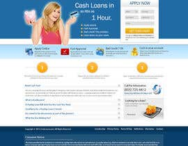 #33 pentru Website Design for Payday Loans Website de către opensourceintelq