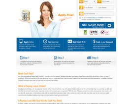 nº 16 pour Website Design for Payday Loans Website par iNoesis