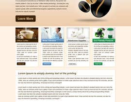 nº 5 pour Website Design for Coffee Solutions Group par tania06