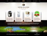Proposition n° 50 du concours Graphic Design pour Website Design for Coffee Solutions Group