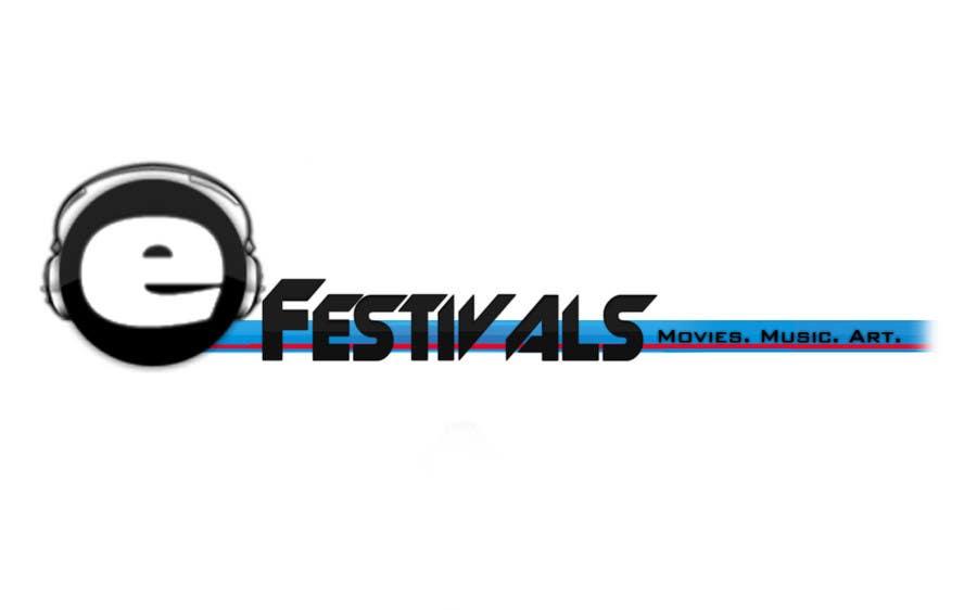 Inscrição nº 309 do Concurso para Logo Design for eFestivals