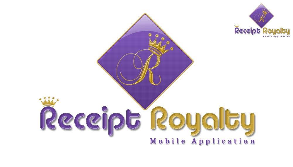 Konkurrenceindlæg #187 for Logo Design for Receipt Royalty Mobile Application