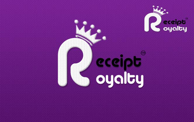 Konkurrenceindlæg #235 for Logo Design for Receipt Royalty Mobile Application
