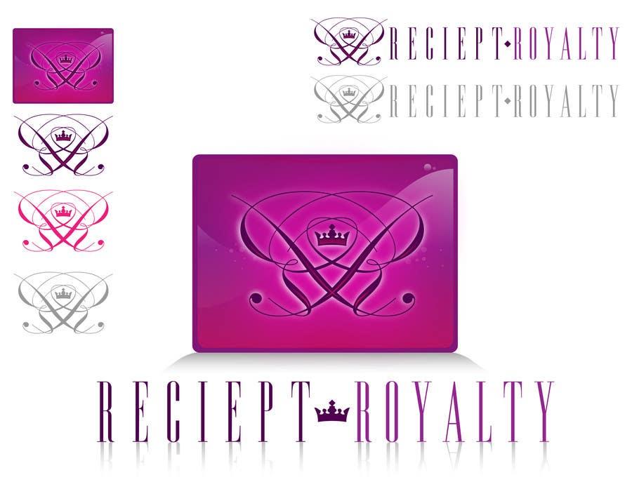 #99 for Logo Design for Receipt Royalty Mobile Application by Lgarner