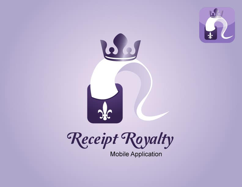 #147 for Logo Design for Receipt Royalty Mobile Application by robertlopezjr