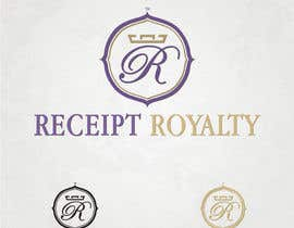 #192 para Logo Design for Receipt Royalty Mobile Application por simoneferranti