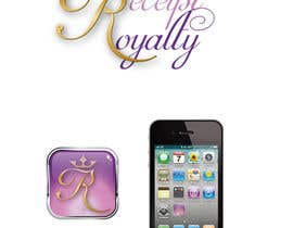 #177 pentru Logo Design for Receipt Royalty Mobile Application de către Fran2811