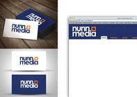 Logo Design for Nunn Media için Graphic Design77 No.lu Yarışma Girdisi