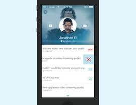 #8 for Mobile App Design - 1 page af ThunderPen