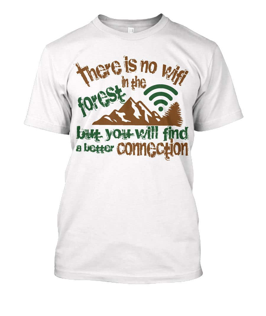 Entry 70 By Asrafulupon For Creative T Shirt Designs Forest Theme
