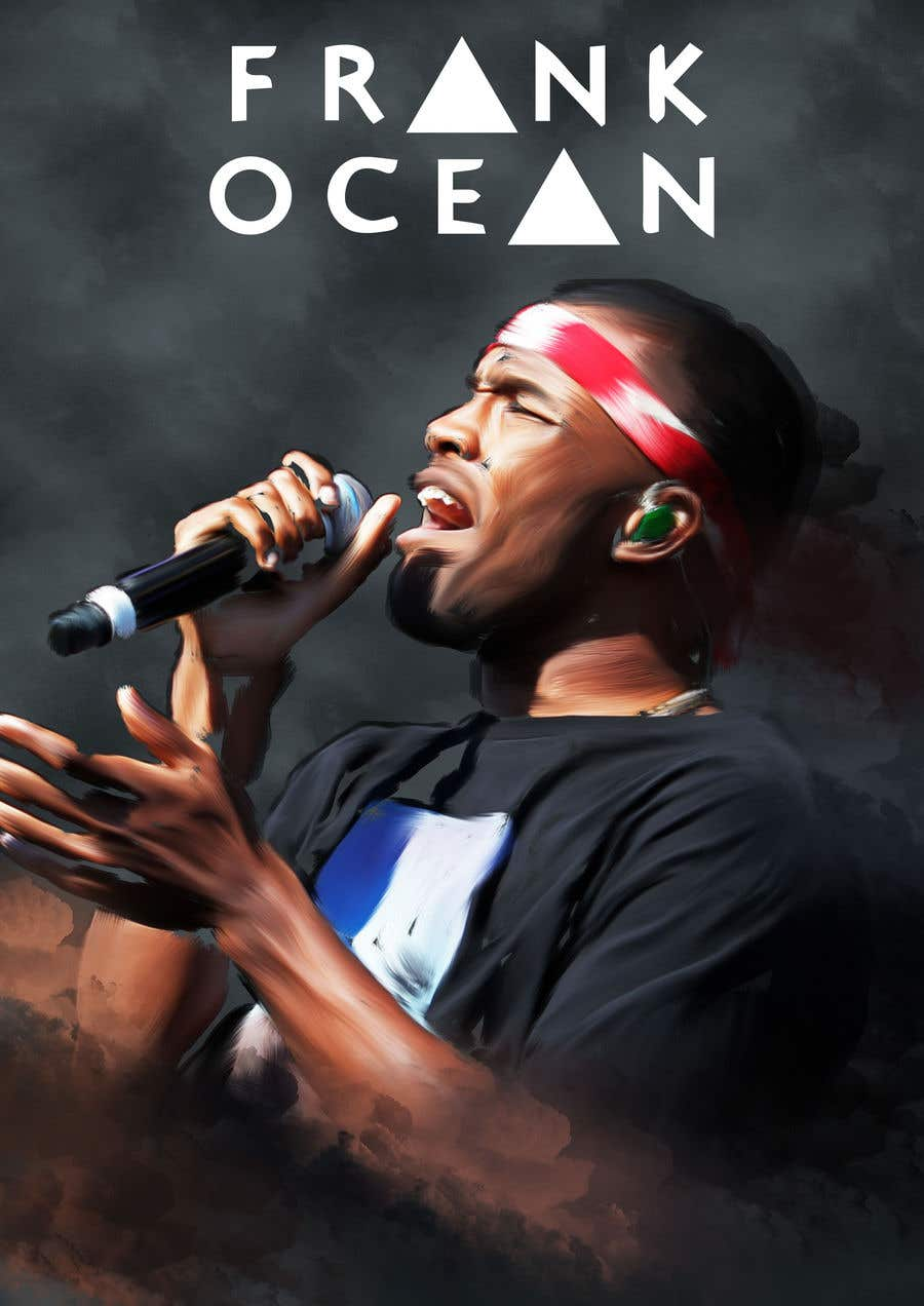 Entry 6 By Tarikjamil For Design For Frank Ocean Inspired Poster Freelancer