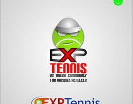 nº 53 pour Logo Design for EXP Tennis par Kuczakowsky