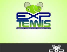nº 57 pour Logo Design for EXP Tennis par Kuczakowsky