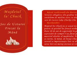 #2 pentru label design for a craft garlic sauce de către SiccaCEO