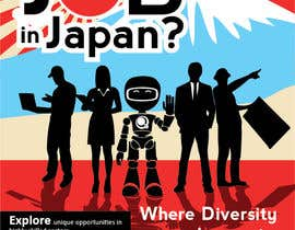#6 untuk We need a poster design for a recruitment firm for foreign students in Universities in Japan (English) oleh zaoqin