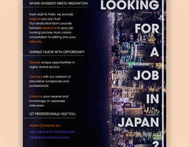 #2 untuk We need a poster design for a recruitment firm for foreign students in Universities in Japan (English) oleh DianaE