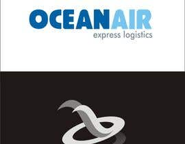 #532 para Logo Design for OceanAir Express Logistics por smartGFD