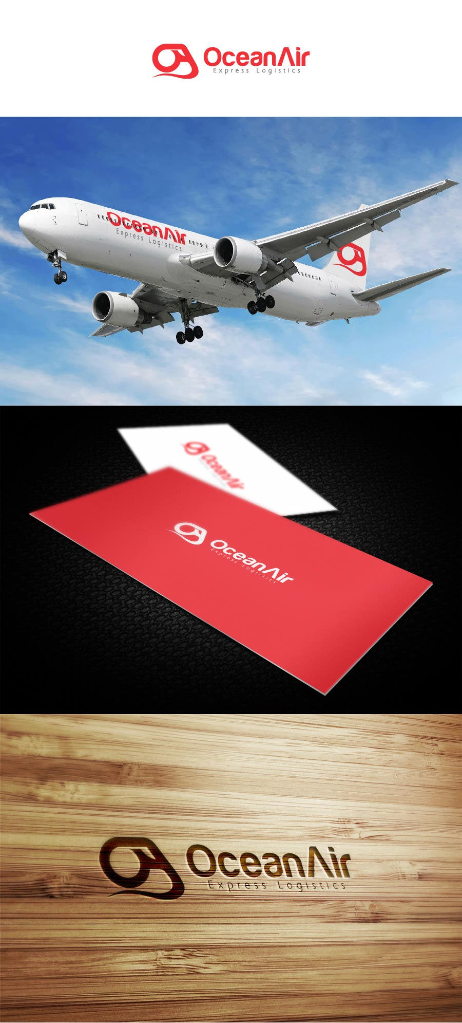 #534 for Logo Design for OceanAir Express Logistics by ejom