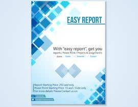 #11 for Design a Brochure (Easy Report) by izayafurqan