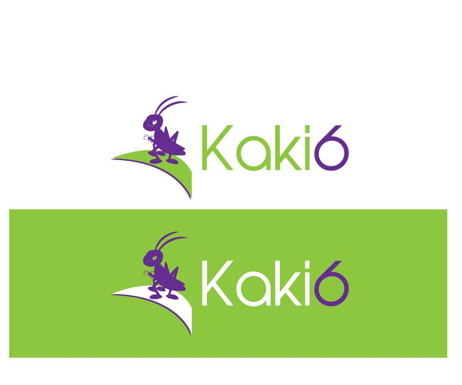 Contest Entry #                                        40                                      for                                         design logo for kaki6.com. an edible insects website