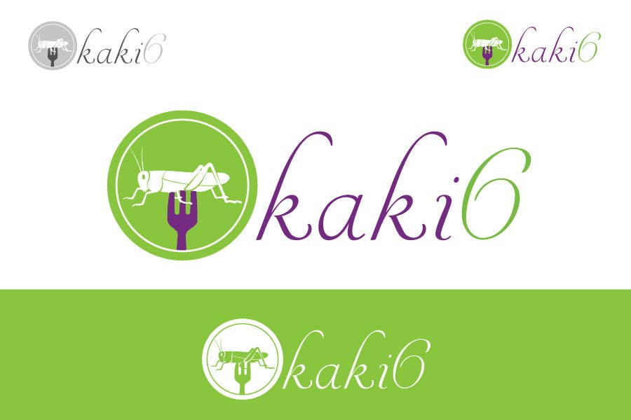 Contest Entry #                                        38                                      for                                         design logo for kaki6.com. an edible insects website